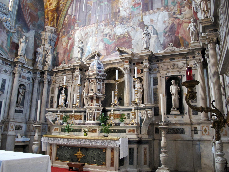 File Certosa Di Fi Chiesa Di S Lorenzo Interno 09 Jpg