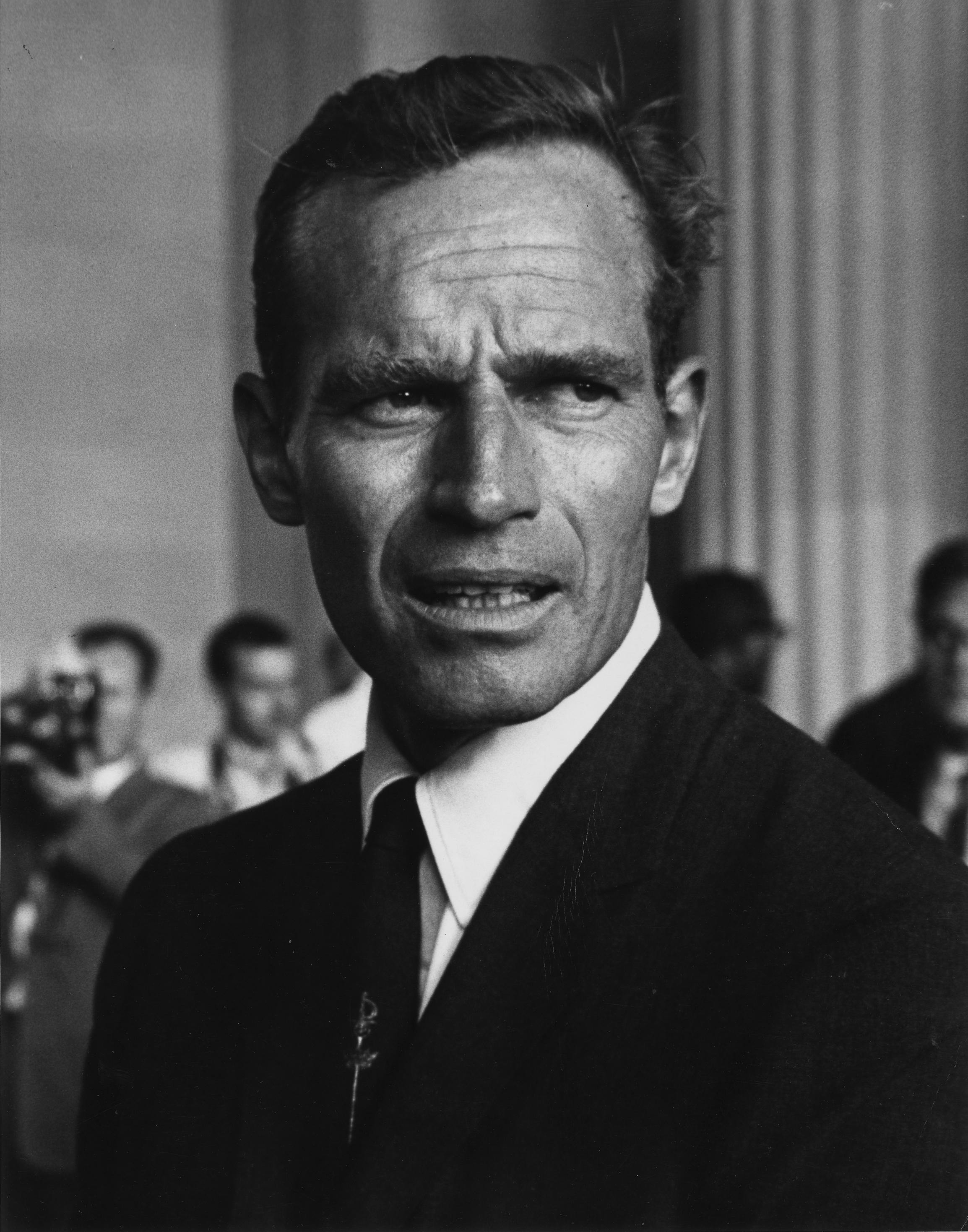 Charlton Heston at the 1963 Civil Rights March.