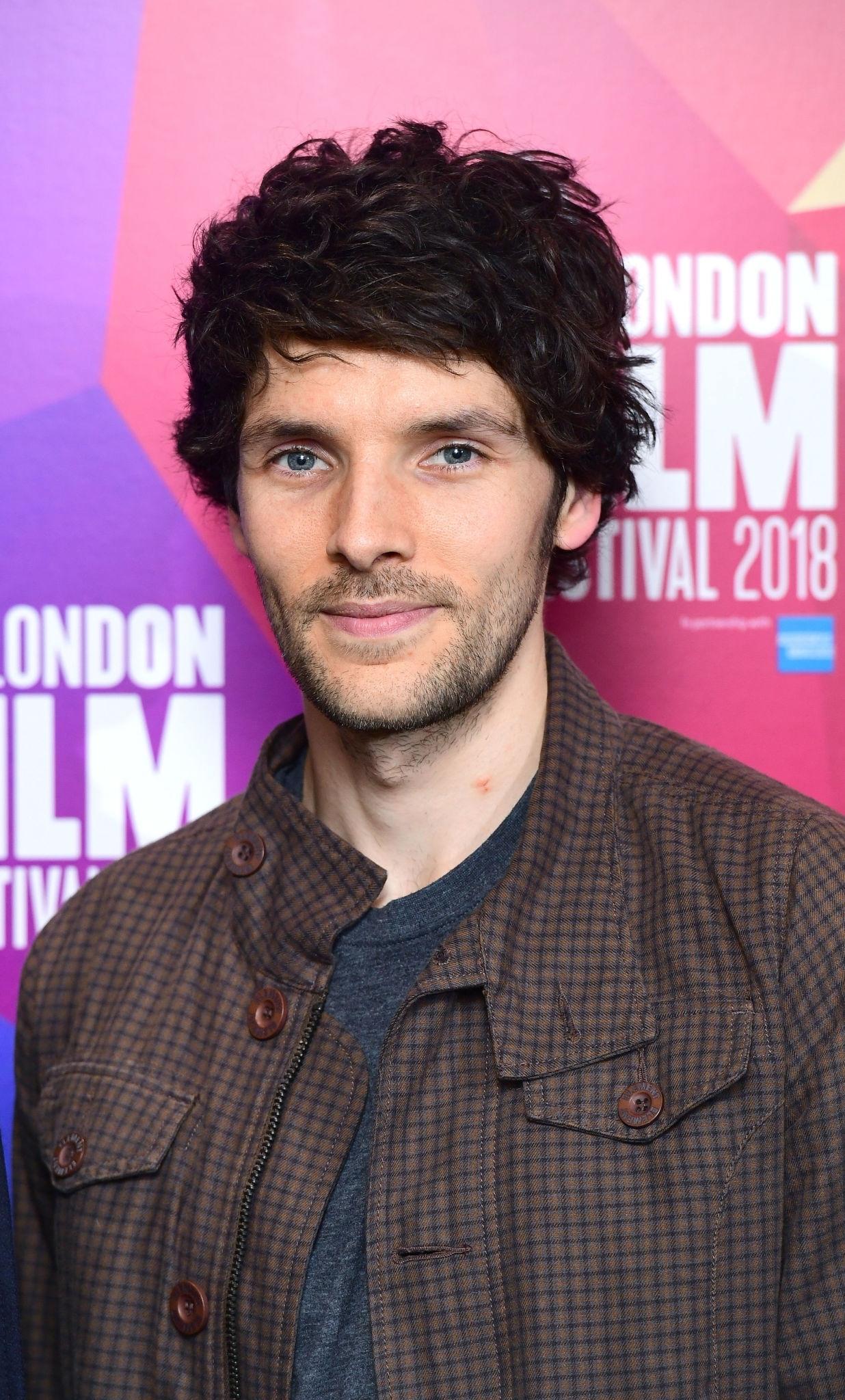 Morgan at the 2018 premiere of [[Benjamin (2018 British film) ''Benjamin'']]