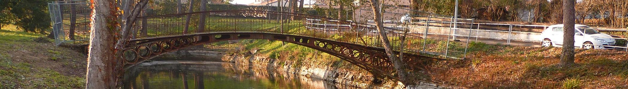 Pont au parc du cabirol.