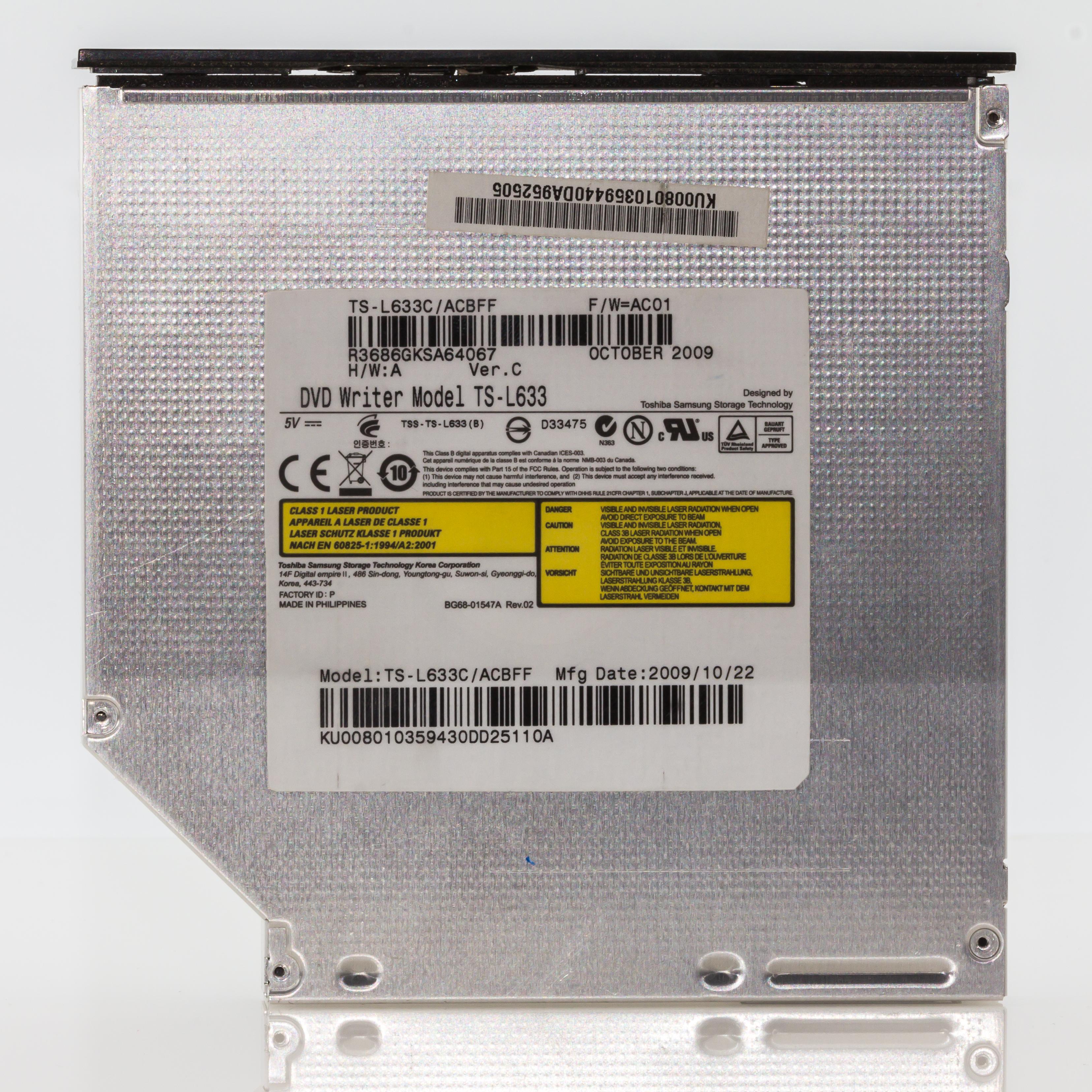 Datei DVD Writer TS L633 Toshiba Samsung Storage Technology 4605