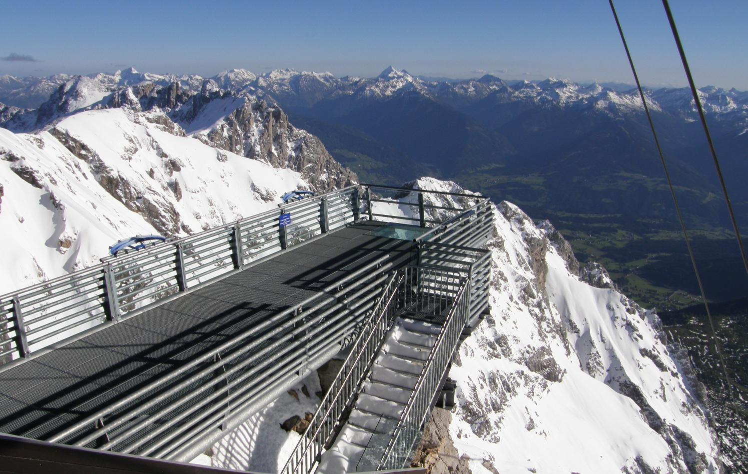 Dachstein Skywalk, Alemania. Foto: wikipedia