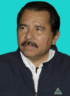 Daniel Ortega, a Nicaraguan politician.