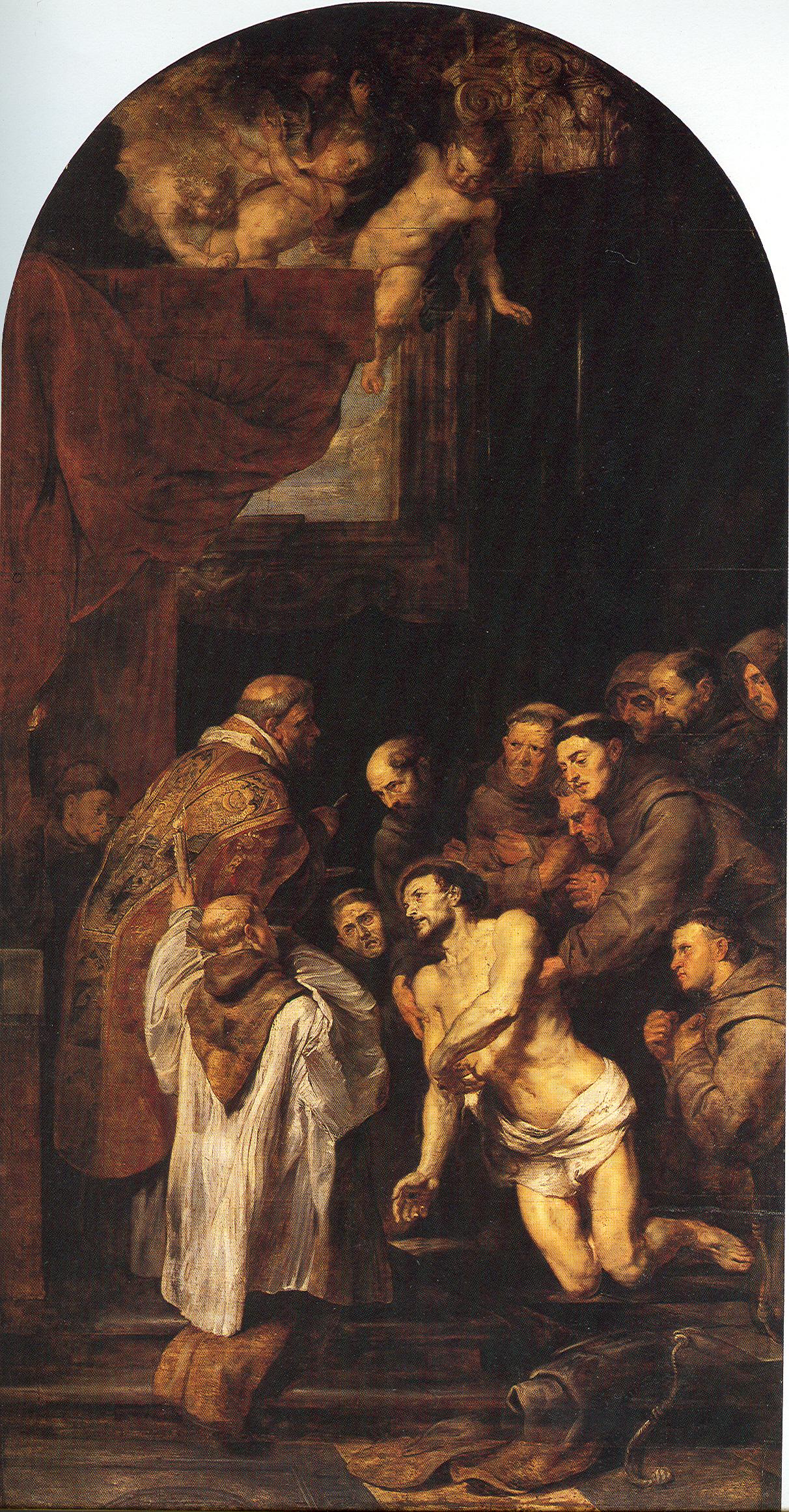 Datei Die Letzte Kommunion Des Hl Franziskus Von Assisi –