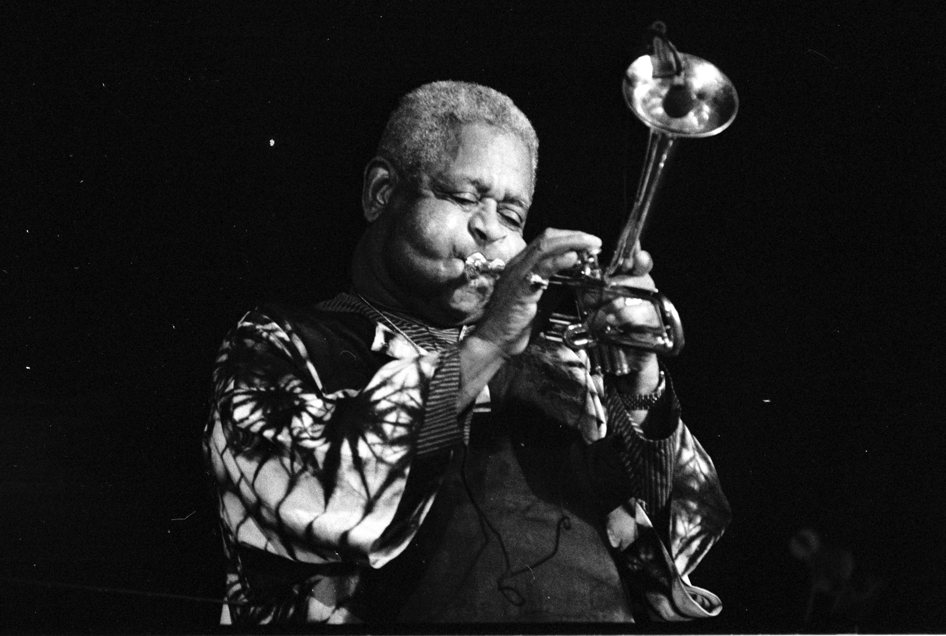 Depiction of Dizzy Gillespie