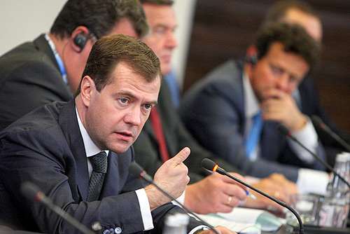 Dmitry Medvedev 5 June 2009-11
