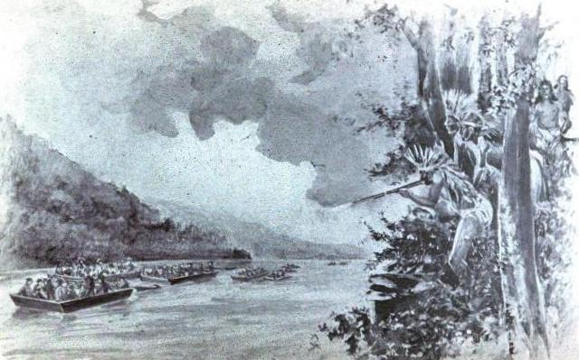 john donelson river journey Tn history exam review the river on which the river journey began their trip john donelson founder of the watauga settlement william bean.
