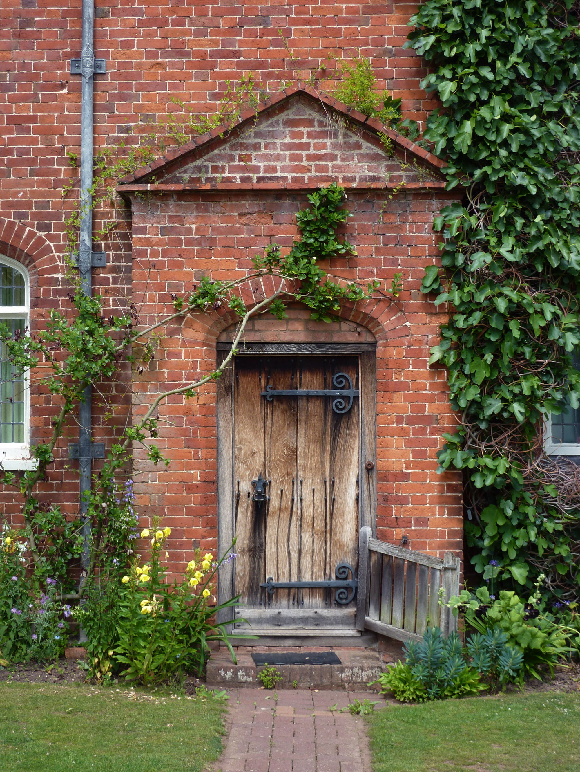 file door at packwood house love the gate panoramio jpg