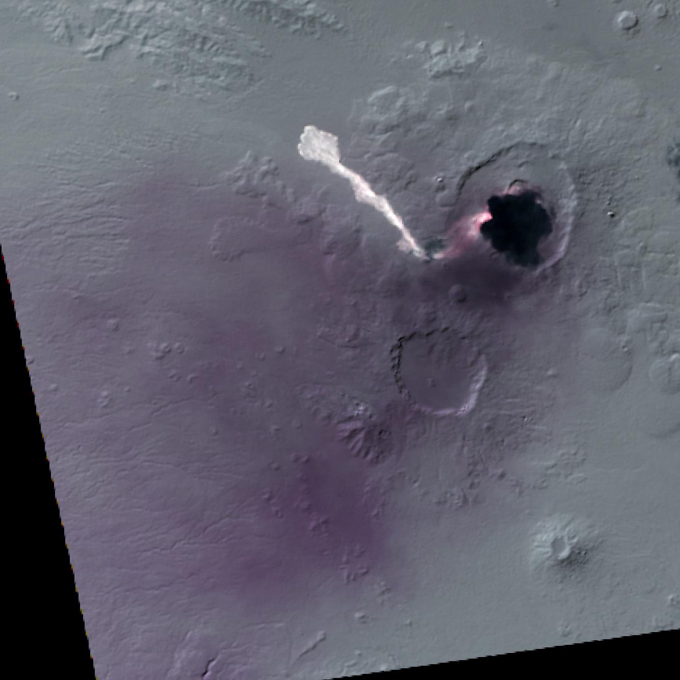 Извержение вулкана в Эритрее