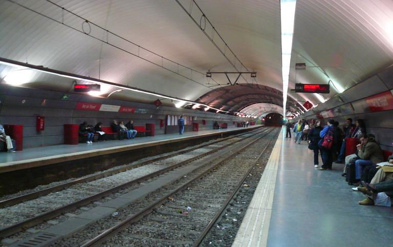 En el anden del metro - 2 part 5