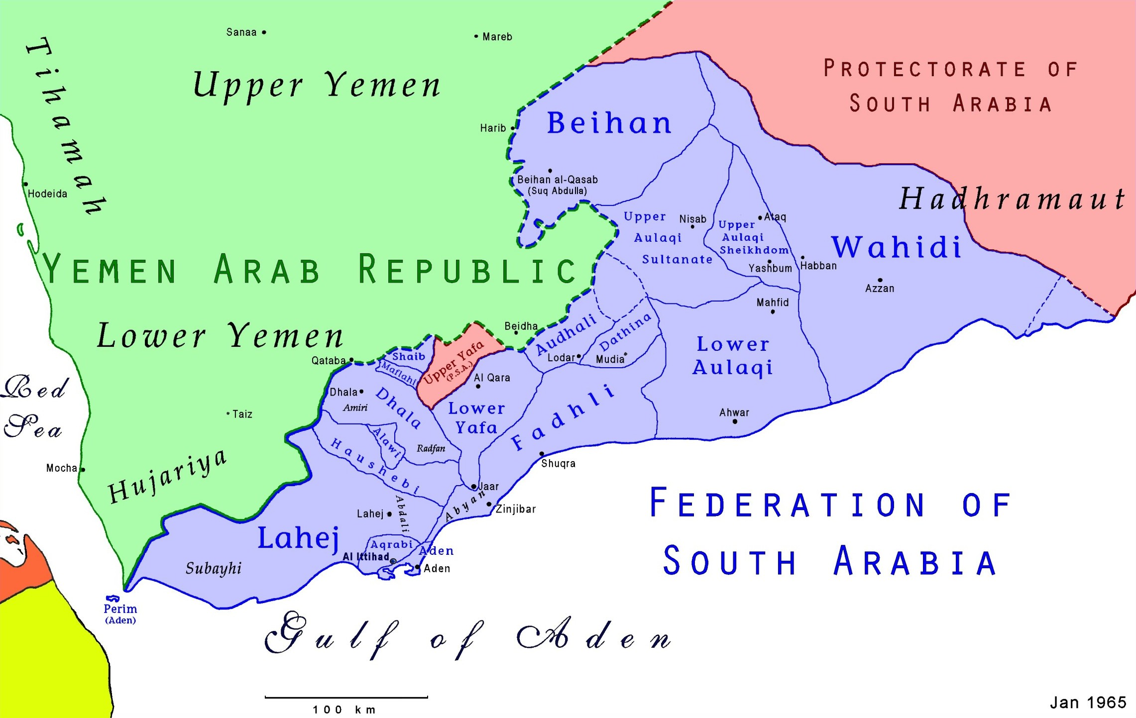 Image result for british yemen map