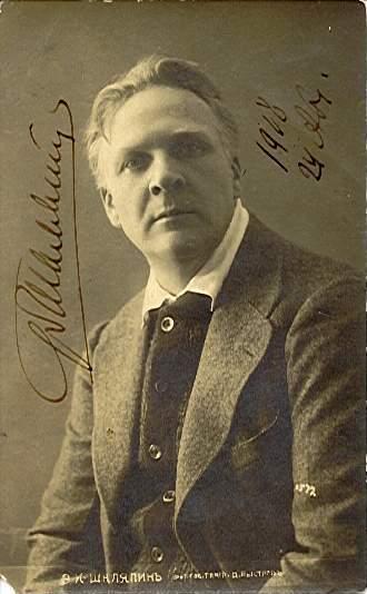Feodor Chaliapin (1908)