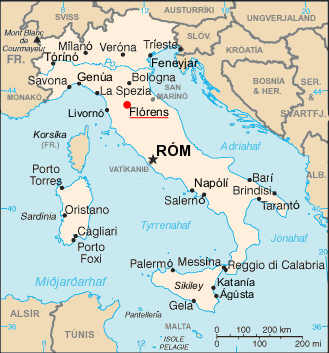 File Florence map is Wikimedia mons