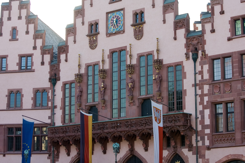 File Frankfurt Am Main Roemer Haus zum Roemer Balkon