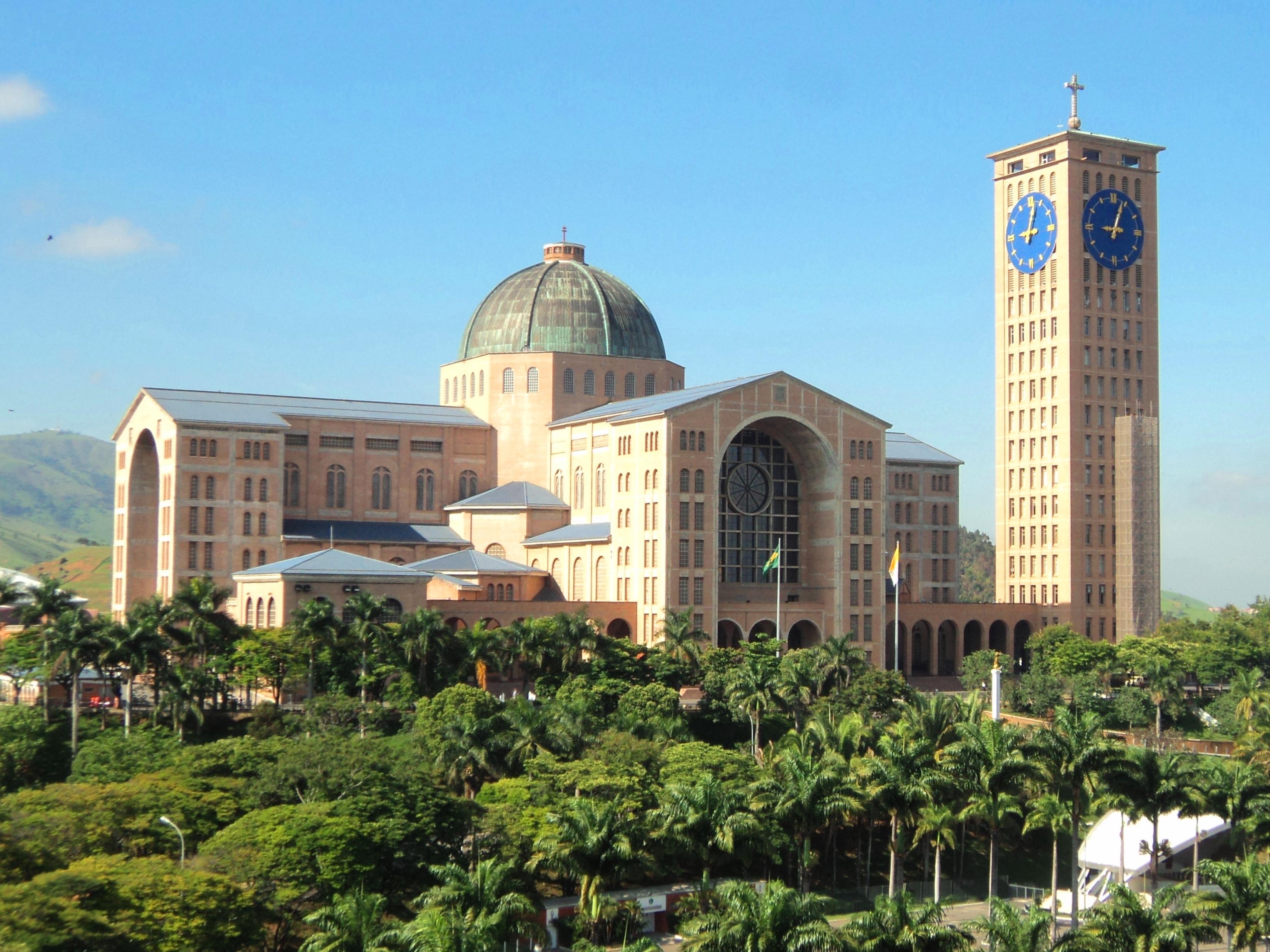Nossa Senhora Aparecida: File:Frente Da Basílica De Nossa Senhora Aparecida