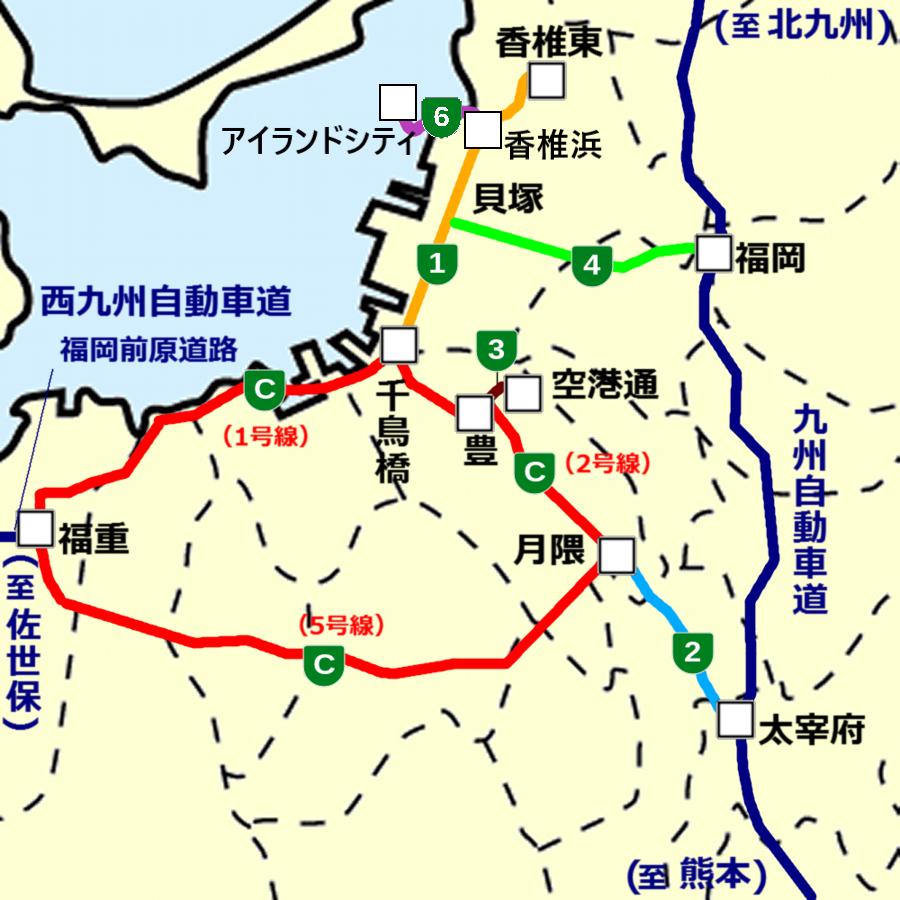 File Fukuoka Expressway Map Wikimedia mons