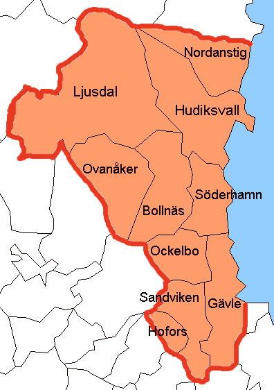 gävleborg karta Gävleborgs län – Wikipedia gävleborg karta