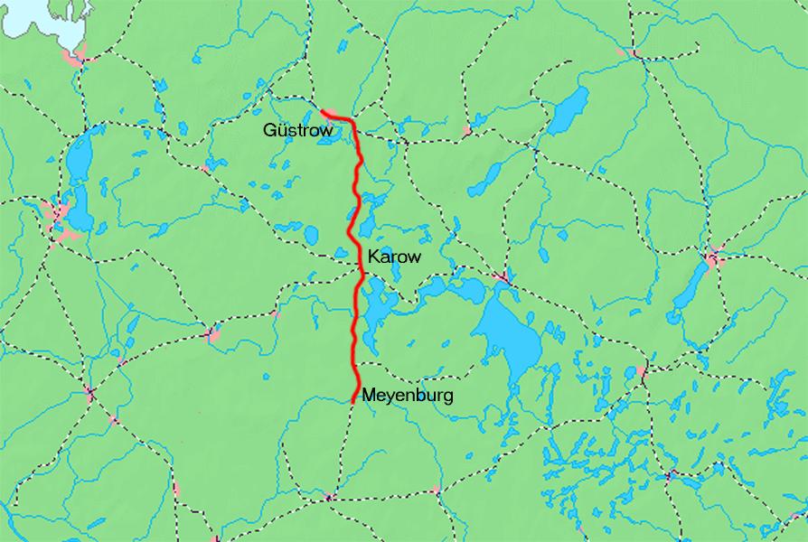 Güstrow Karte.Datei Güstrow Plauer Eisenbahn Karte Png Wikipedia