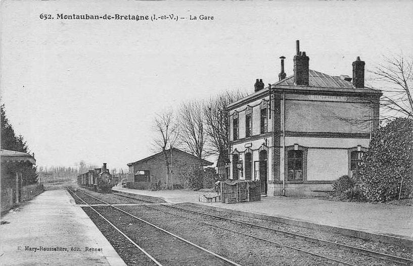 Gare de Montauban de Bretagne (Menezalban) [11/05/18] GareMontaubanBretagne1900