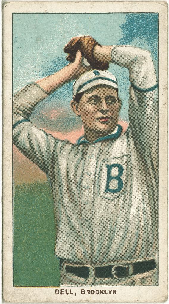 Filegeorge Bell Brooklyn Superbas Baseball Card Portrait