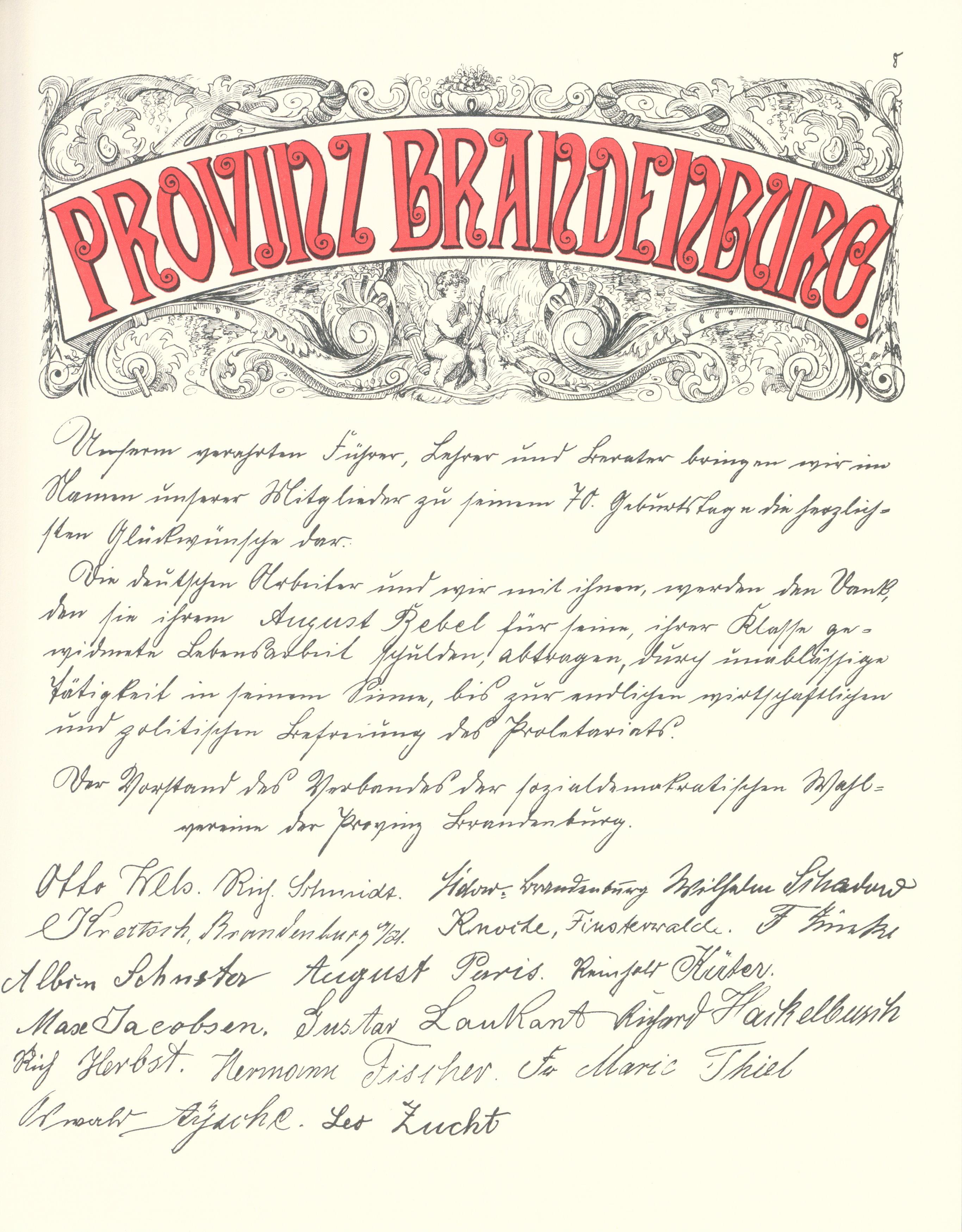 File Goldenes Buch Zum 70 Geburtstag August Bebel 1910 Seite 008
