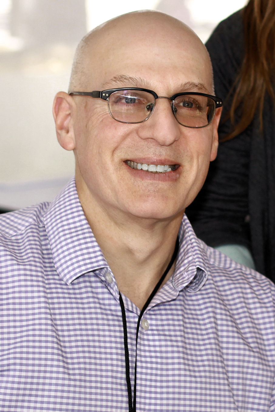 Korman at the 2019 Texas Book Festival