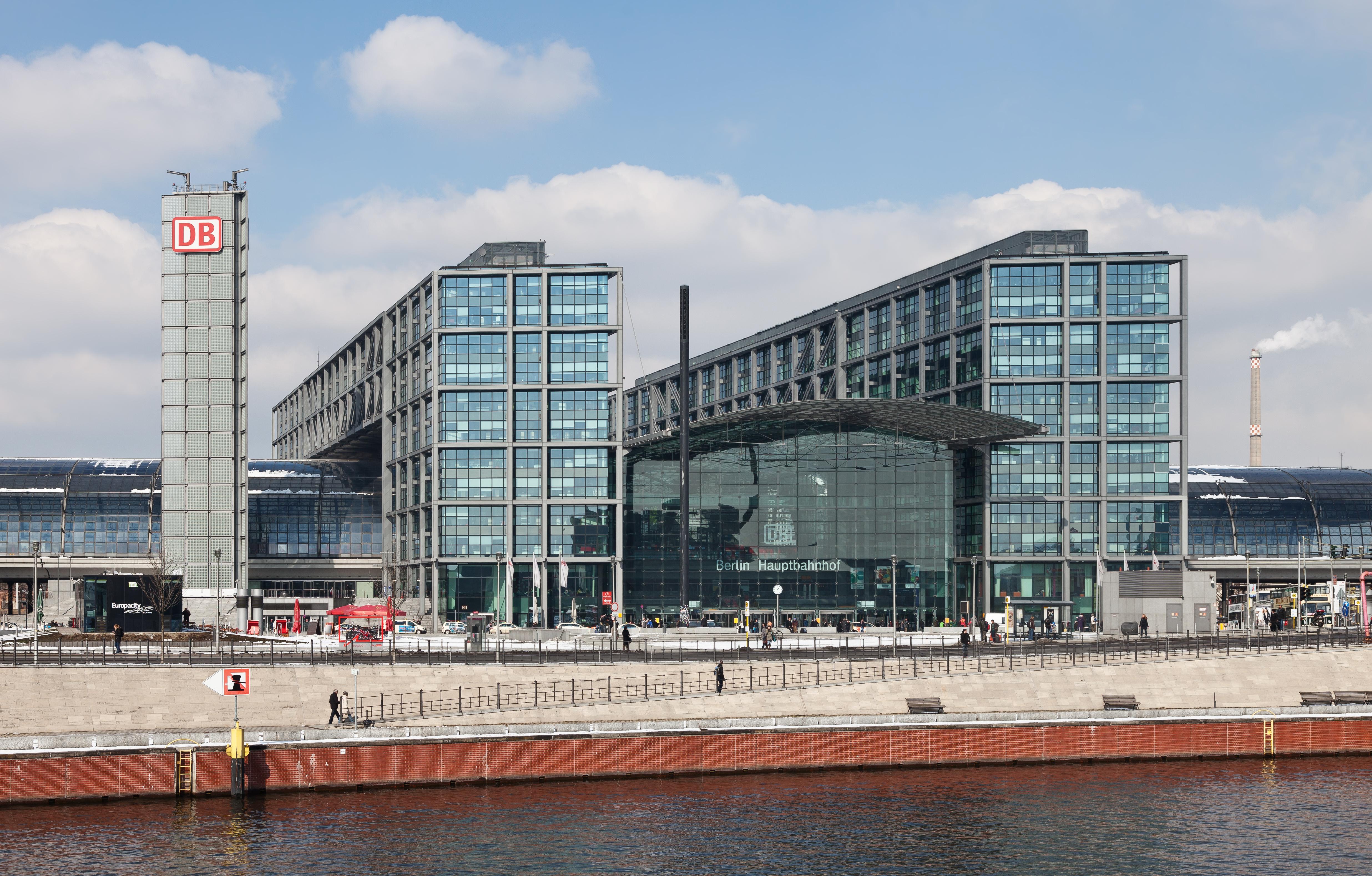 Der Hauptbahnhof in Moabit