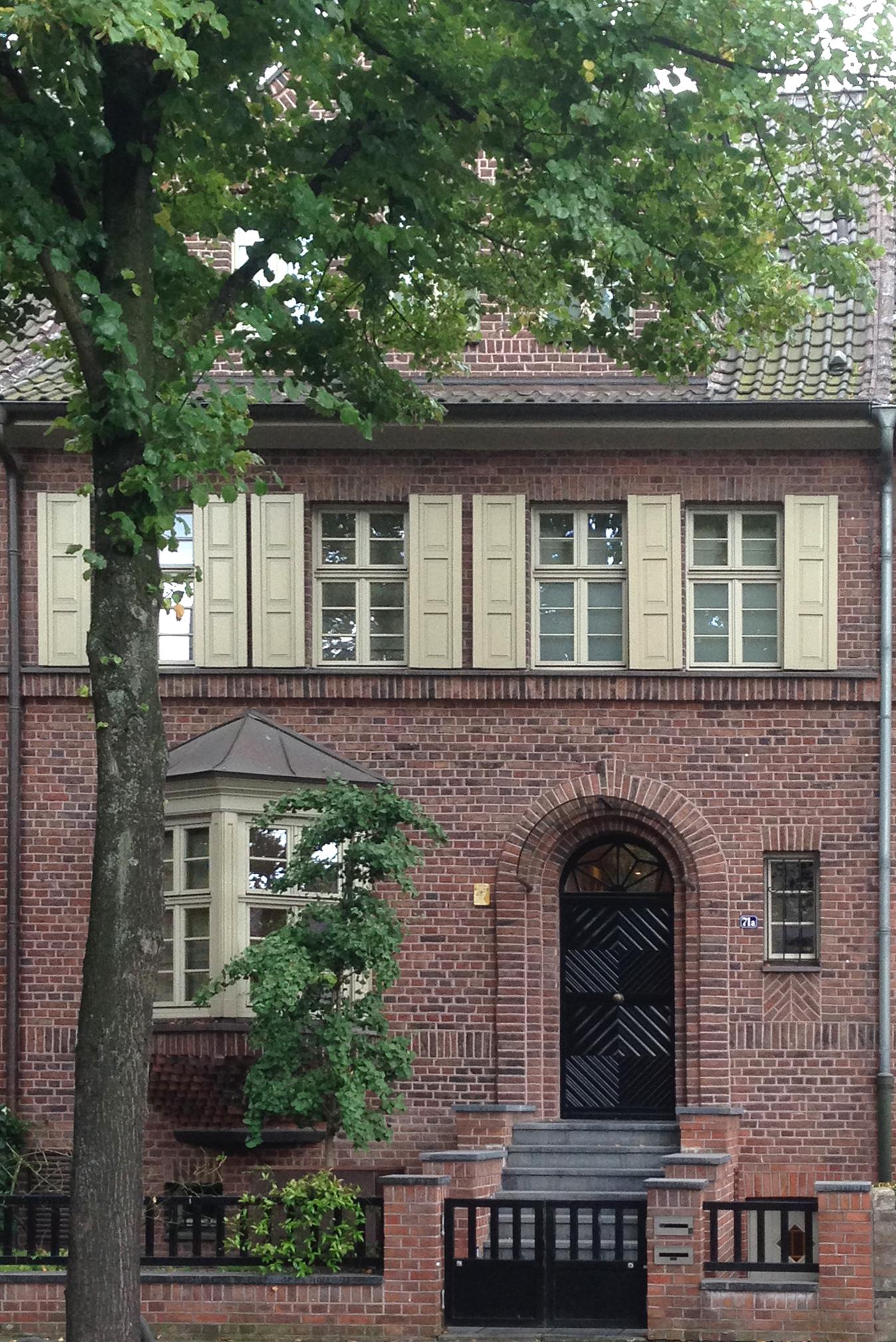 File Haus Düsseldorfer Straße 71a Düsseldorf Oberkassel