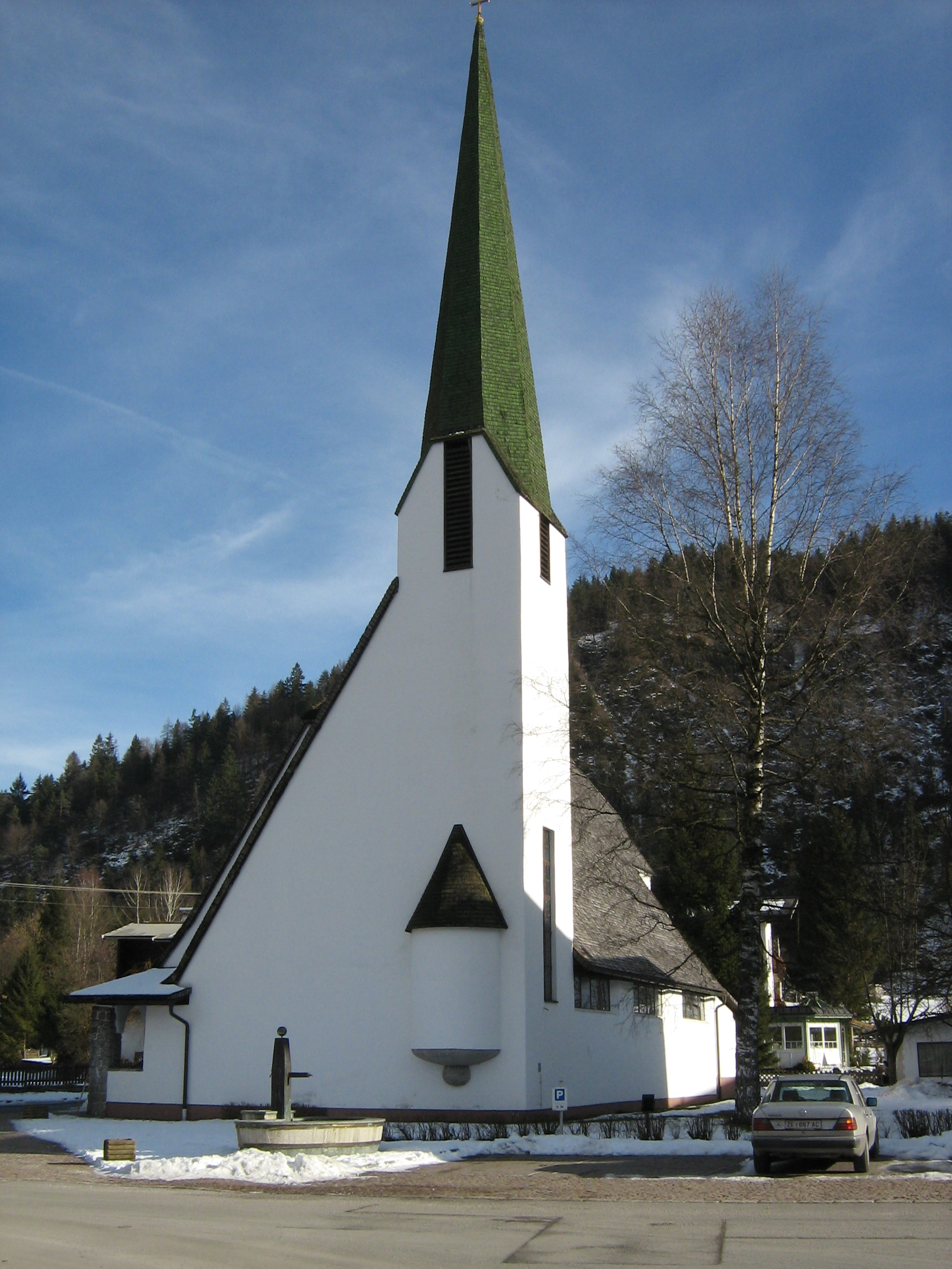 Najpoznatije svetske arhitekte Holzmeister-Kirche_Erpfendorf