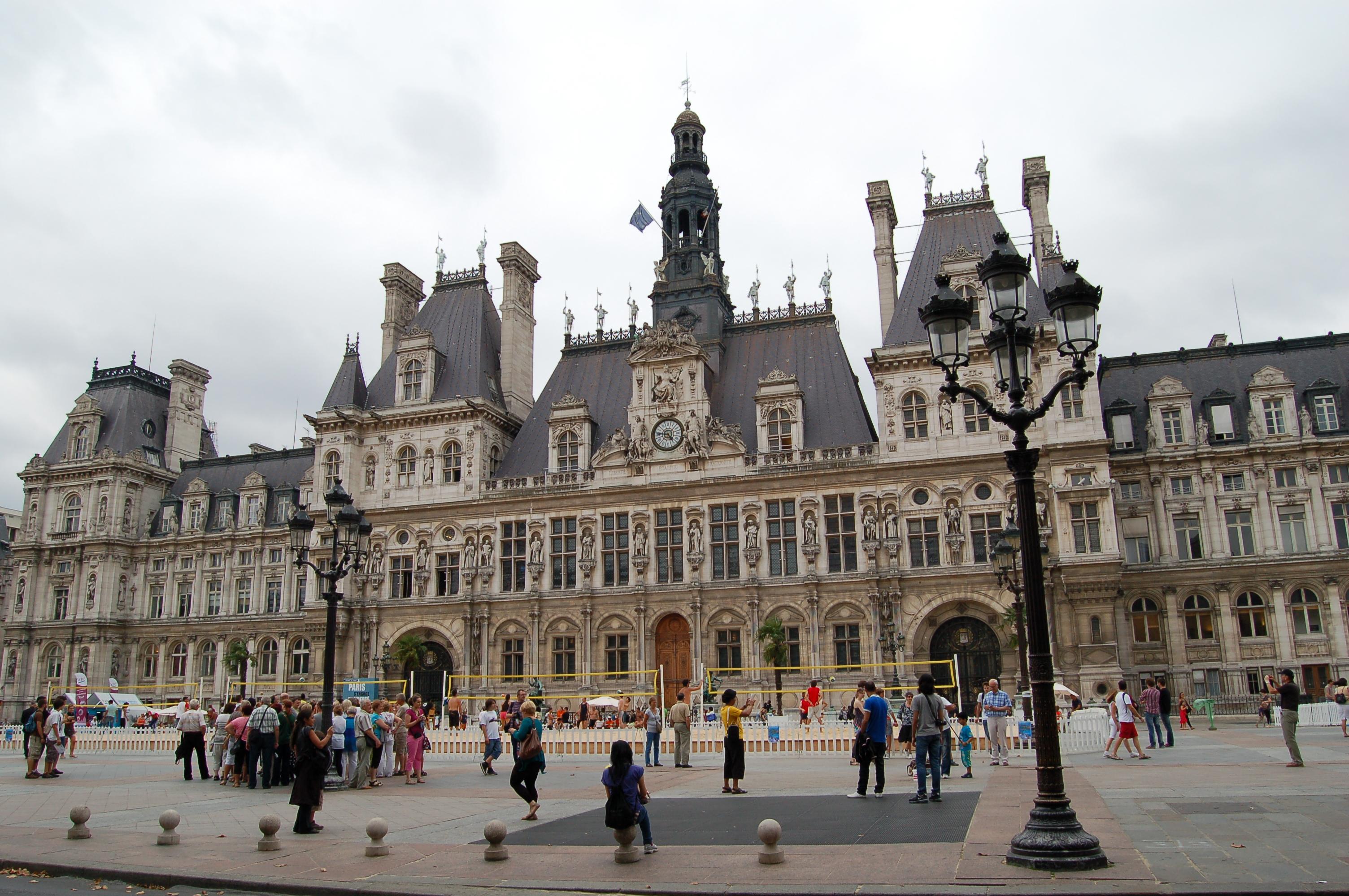 Hotel De Ville De Paris Histoire