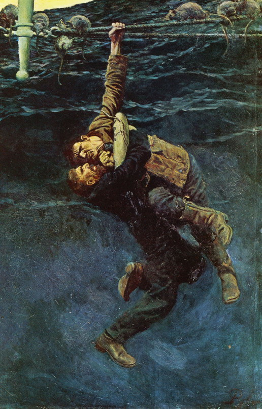 File Howard Pyle He Lost His Hold And Fell Taking Me