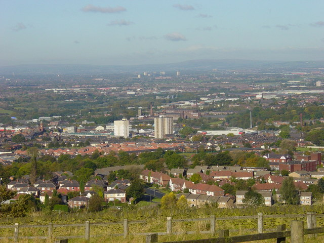 Hyde from Werneth Low