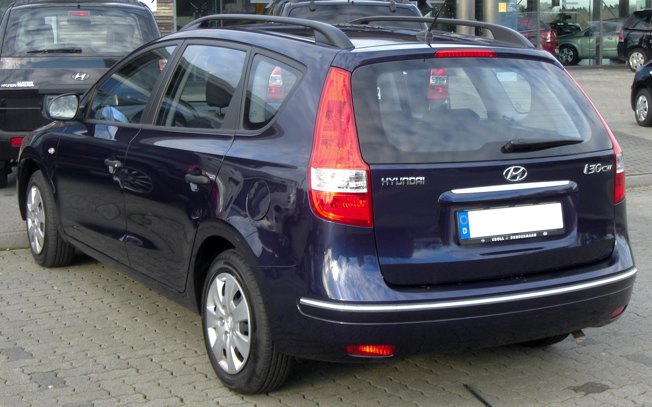 File Hyundai I30cw Seit 2008 Rear Mj Jpg