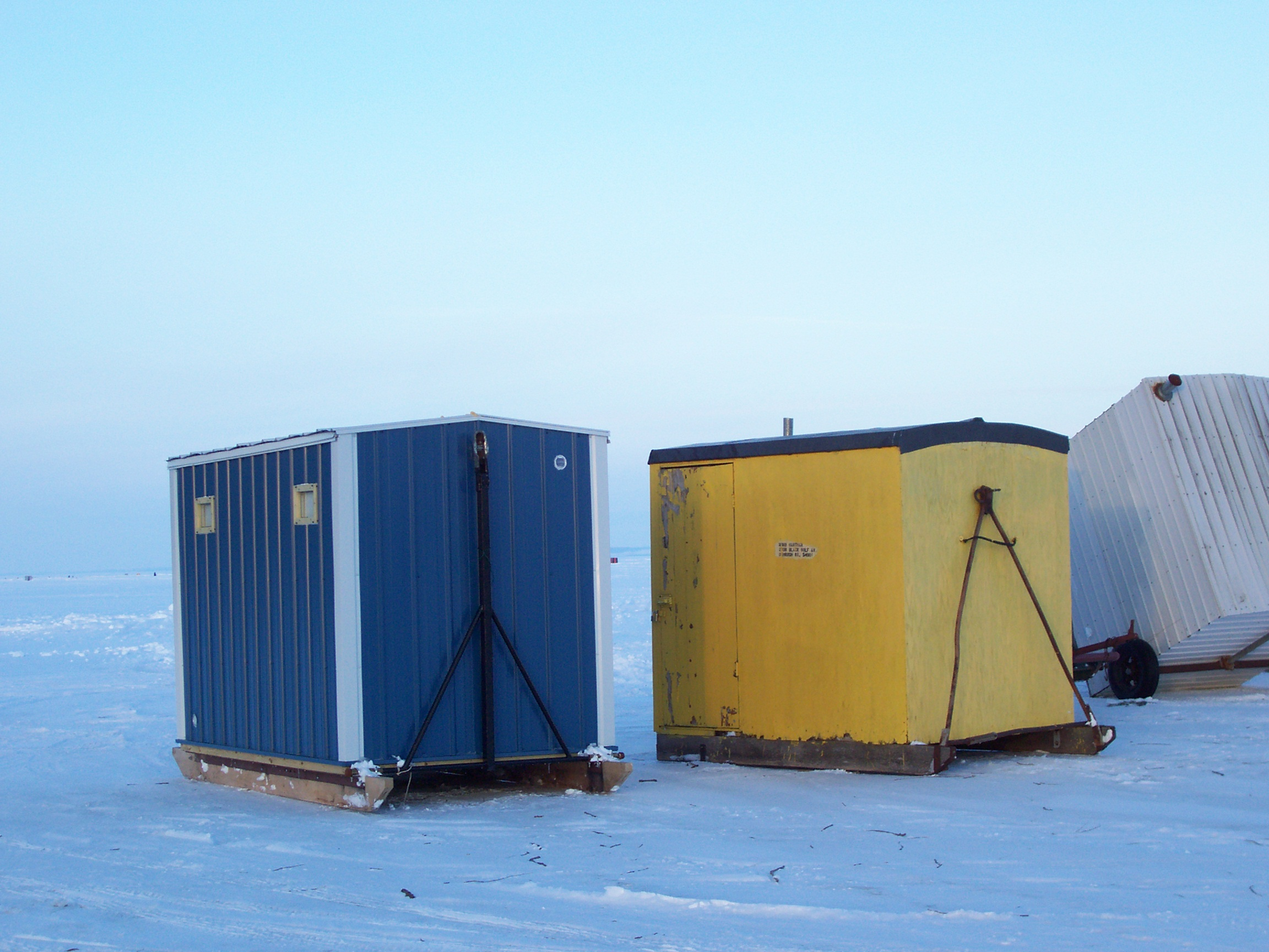 Image gallery ice fishing shanty for Ice fishing shelters for sale