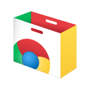 English: Chrome Web Store icon