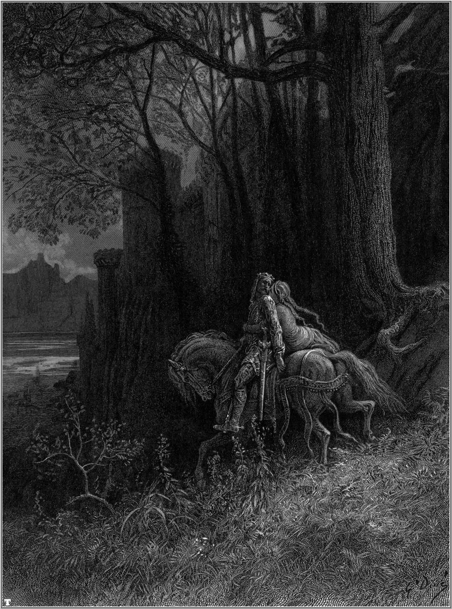 Idylls of the King by Gustave Doré 9