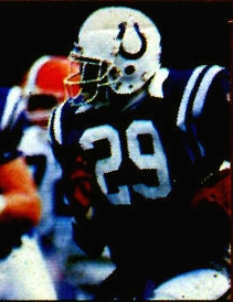 Eric Dickerson led the team in rushing and earned three Pro Bowl invitations during his tenure with the Colts (87'-91').