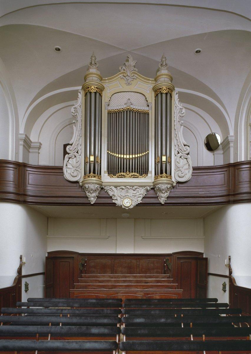 Datei:Interieur, aanzicht herenbank en orgel, orgelnummer 1508 ...
