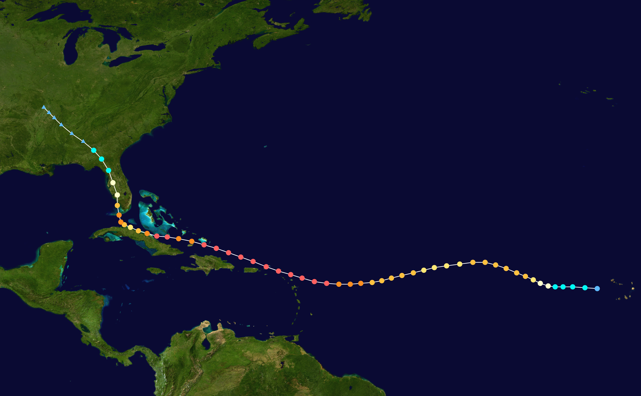 Meteorological history of Hurricane Irma
