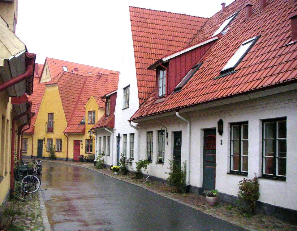 Jakriborg, places in sweden