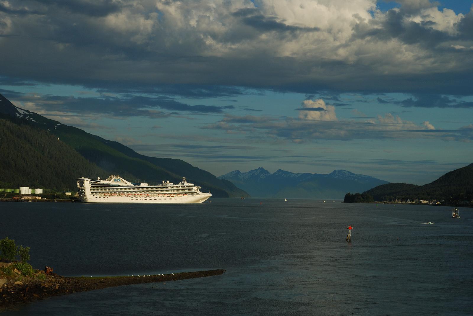 Alaska cruise princess or celebrity