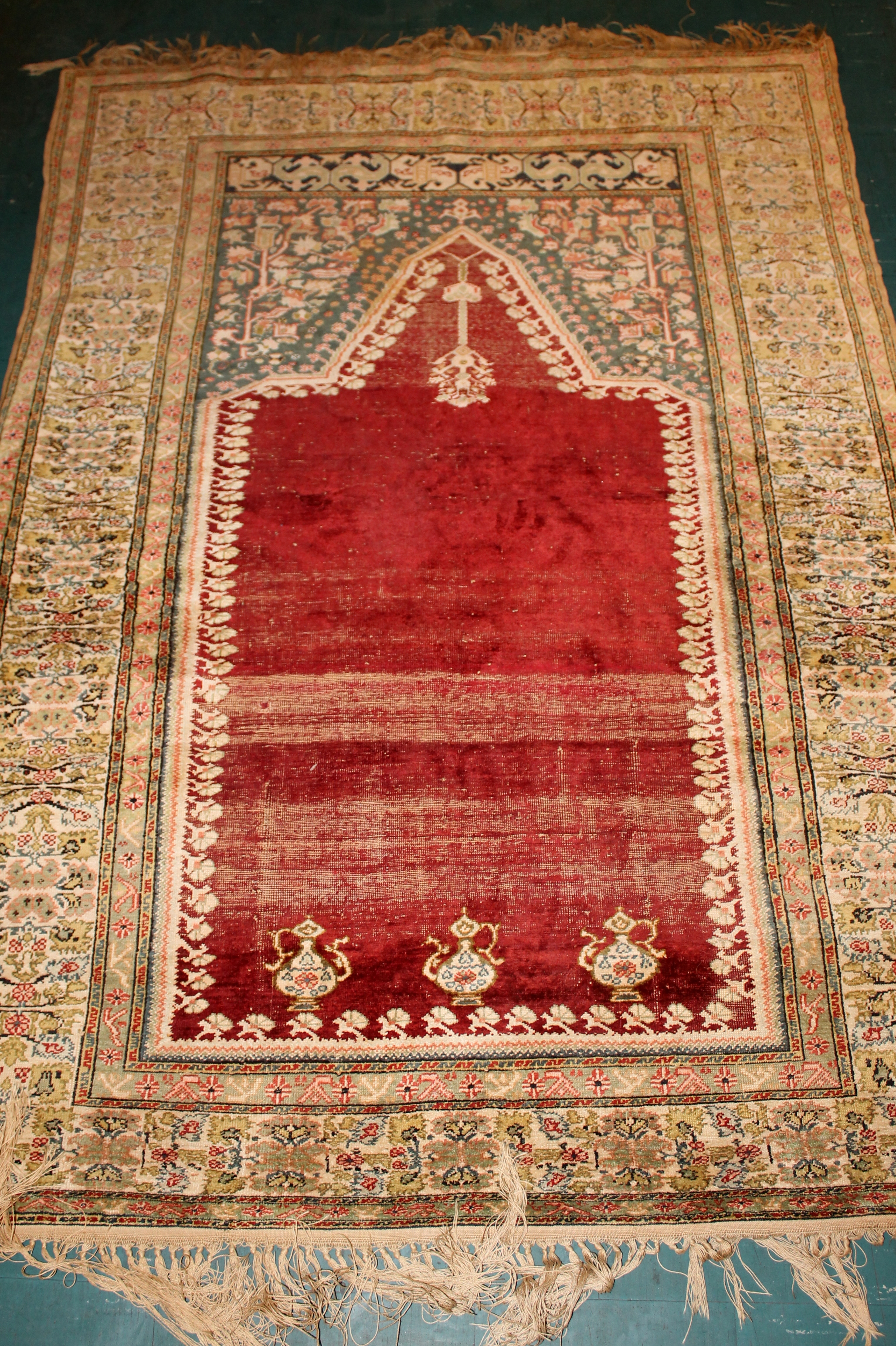 an asp egyptian panel cotton applique p tent rug