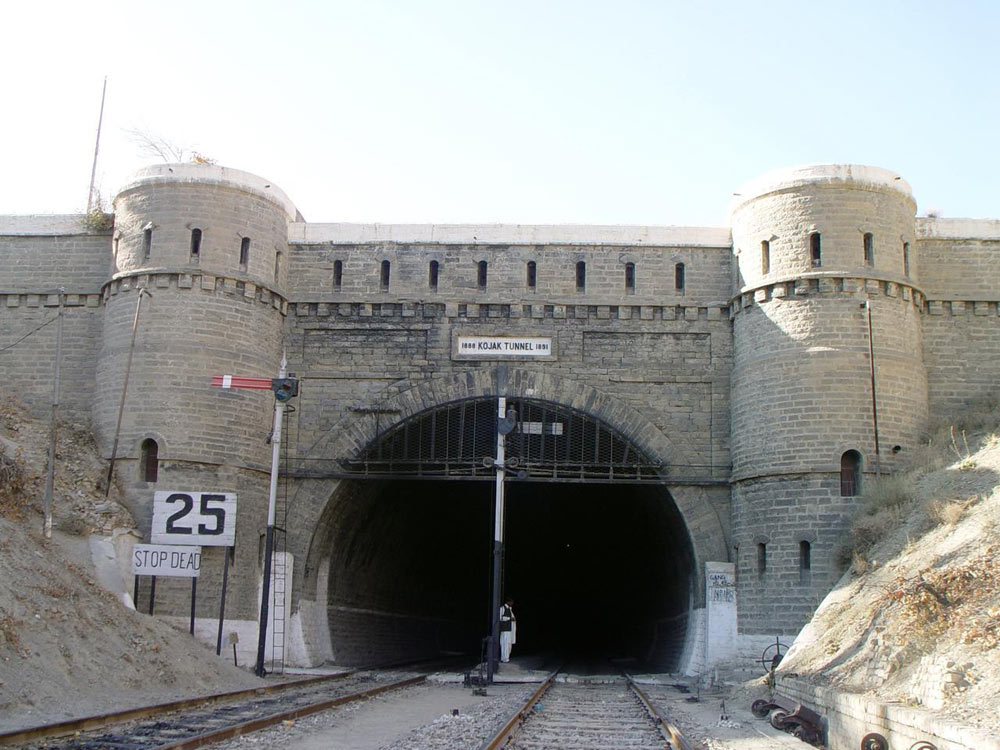 Khojak Tunnel - Wikipedia