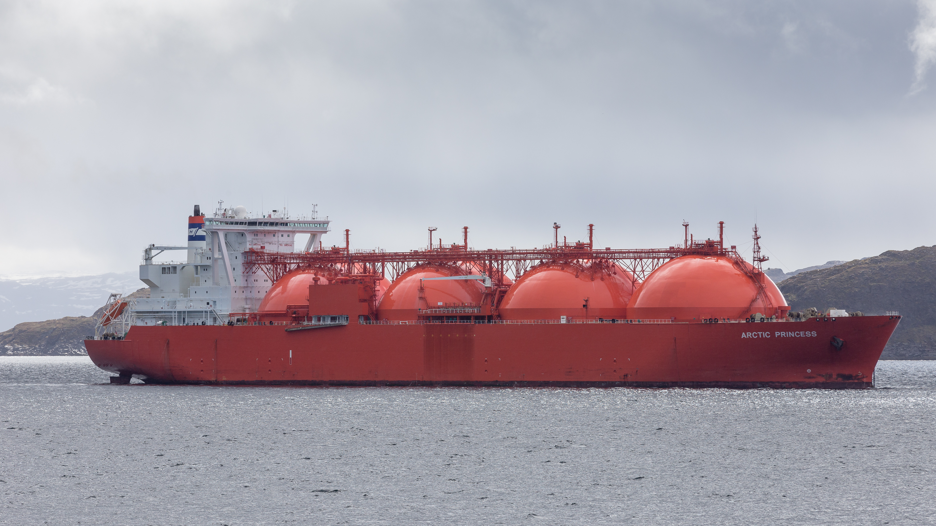 Lpg Gas Norwegen