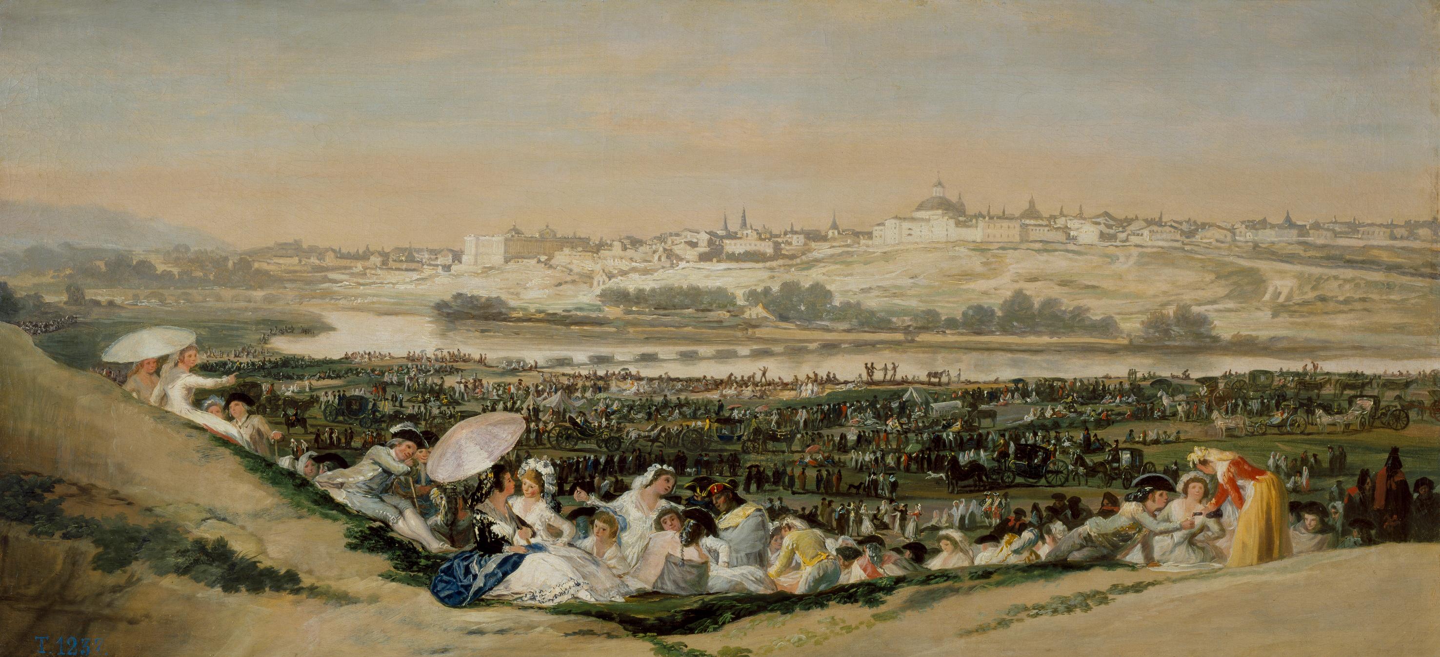Resultado de imagen de romeria historicas en el manzanares