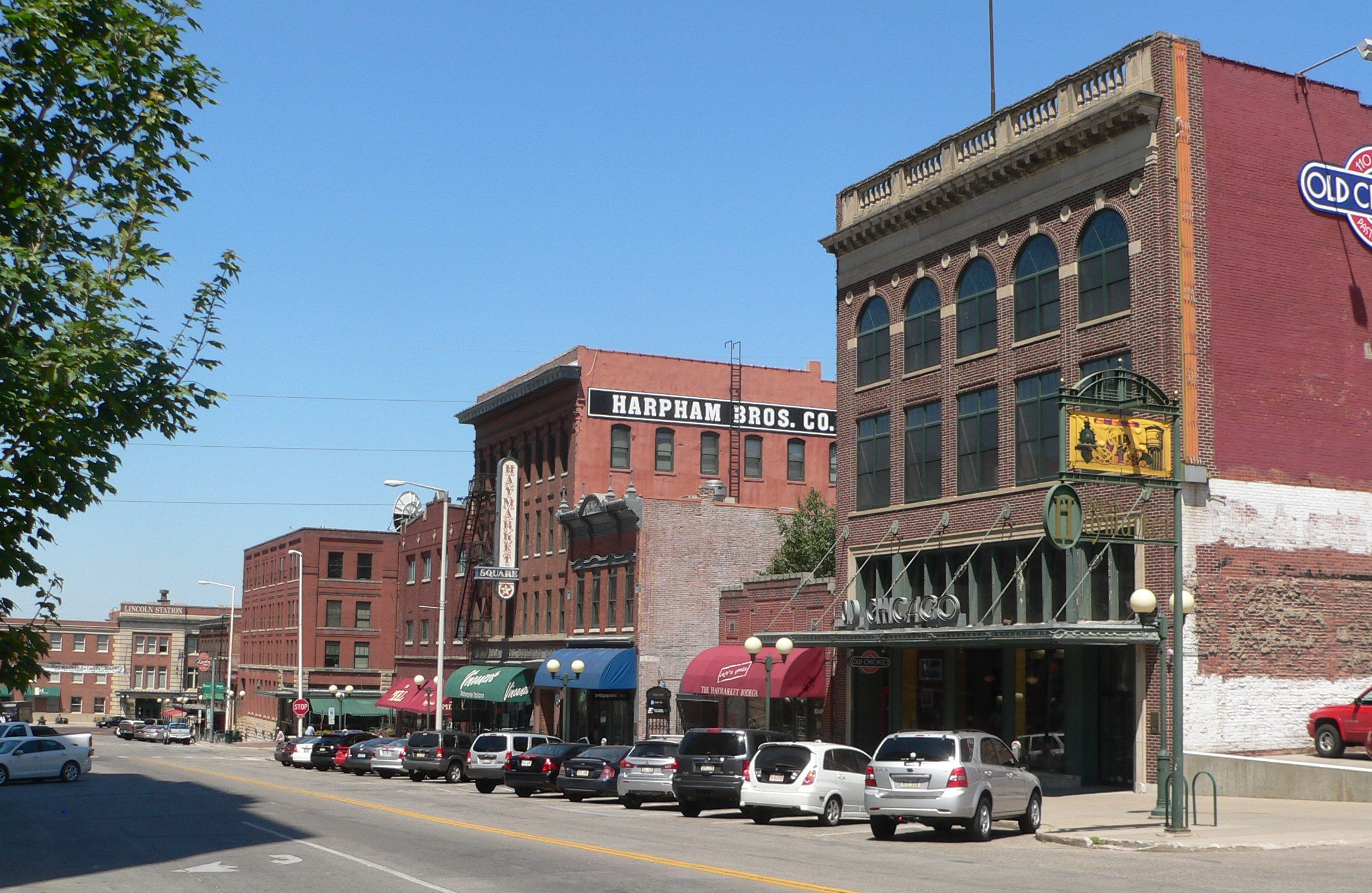 Haymarket District Lincoln Nebraska