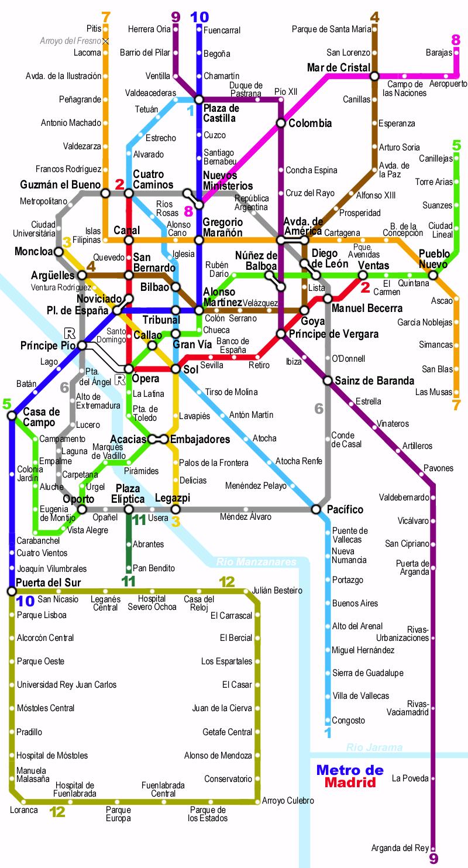 File Madrid metro Network map Wikimedia mons