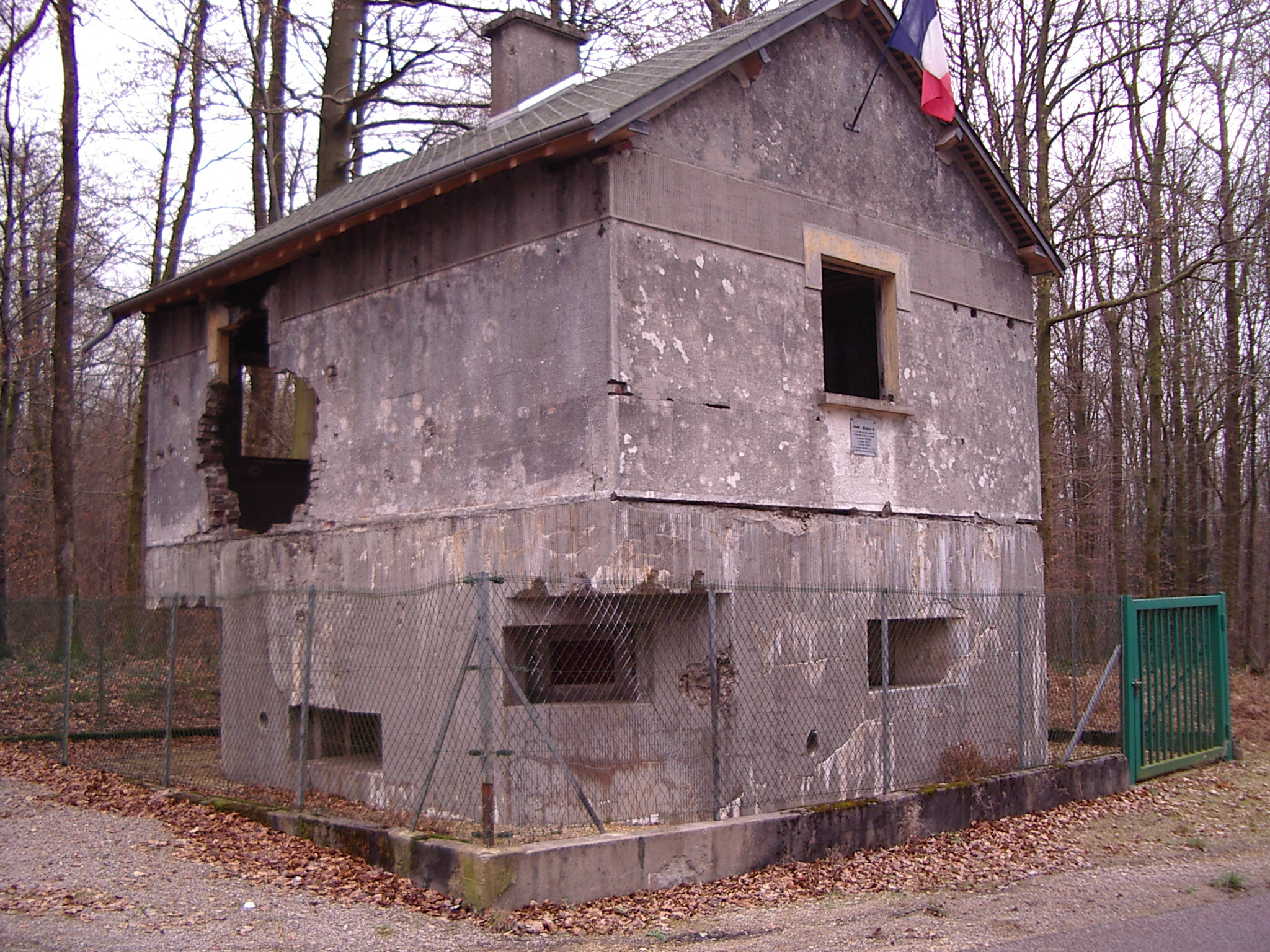 A border pillbox at Saint Menges