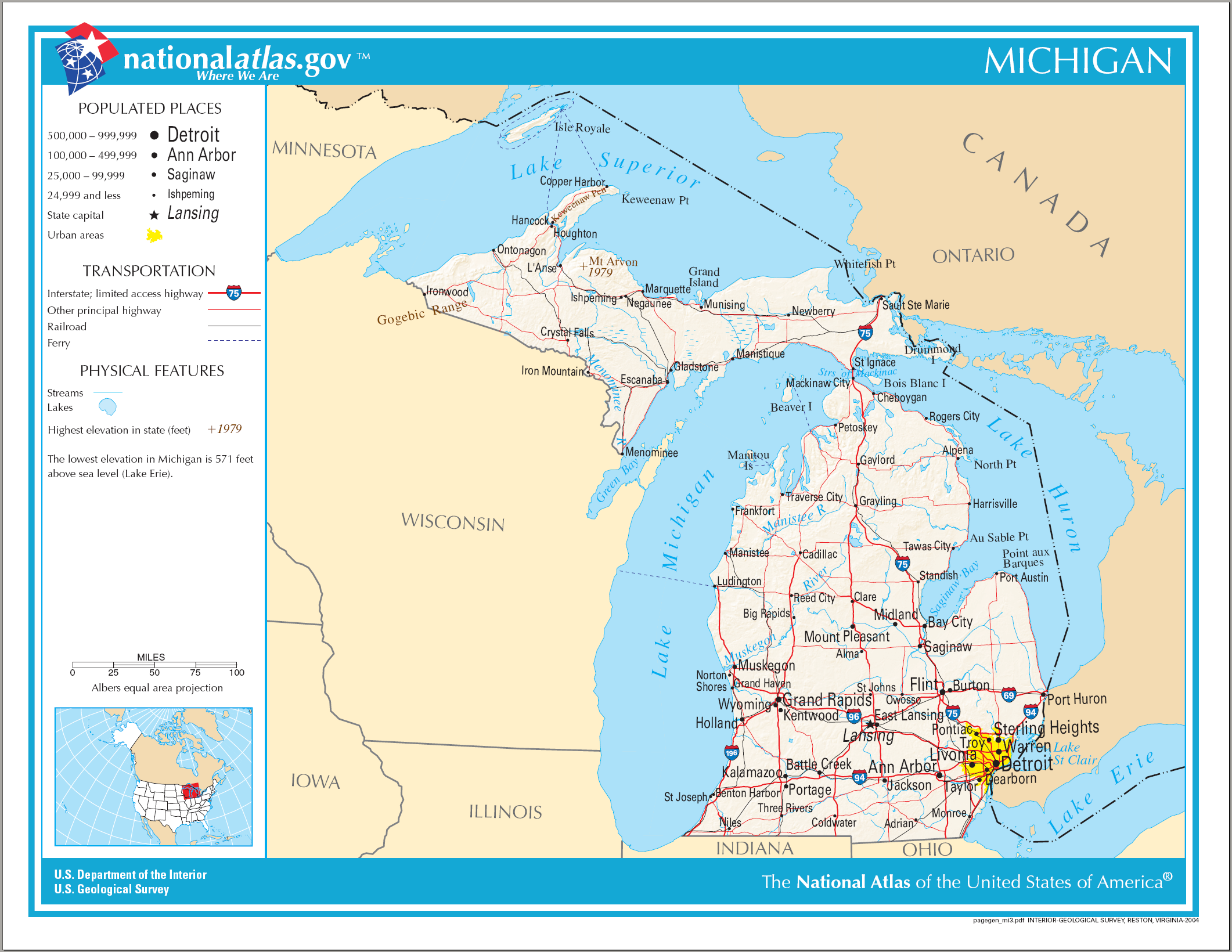 FileMap of Michigan NApng Wikimedia Commons