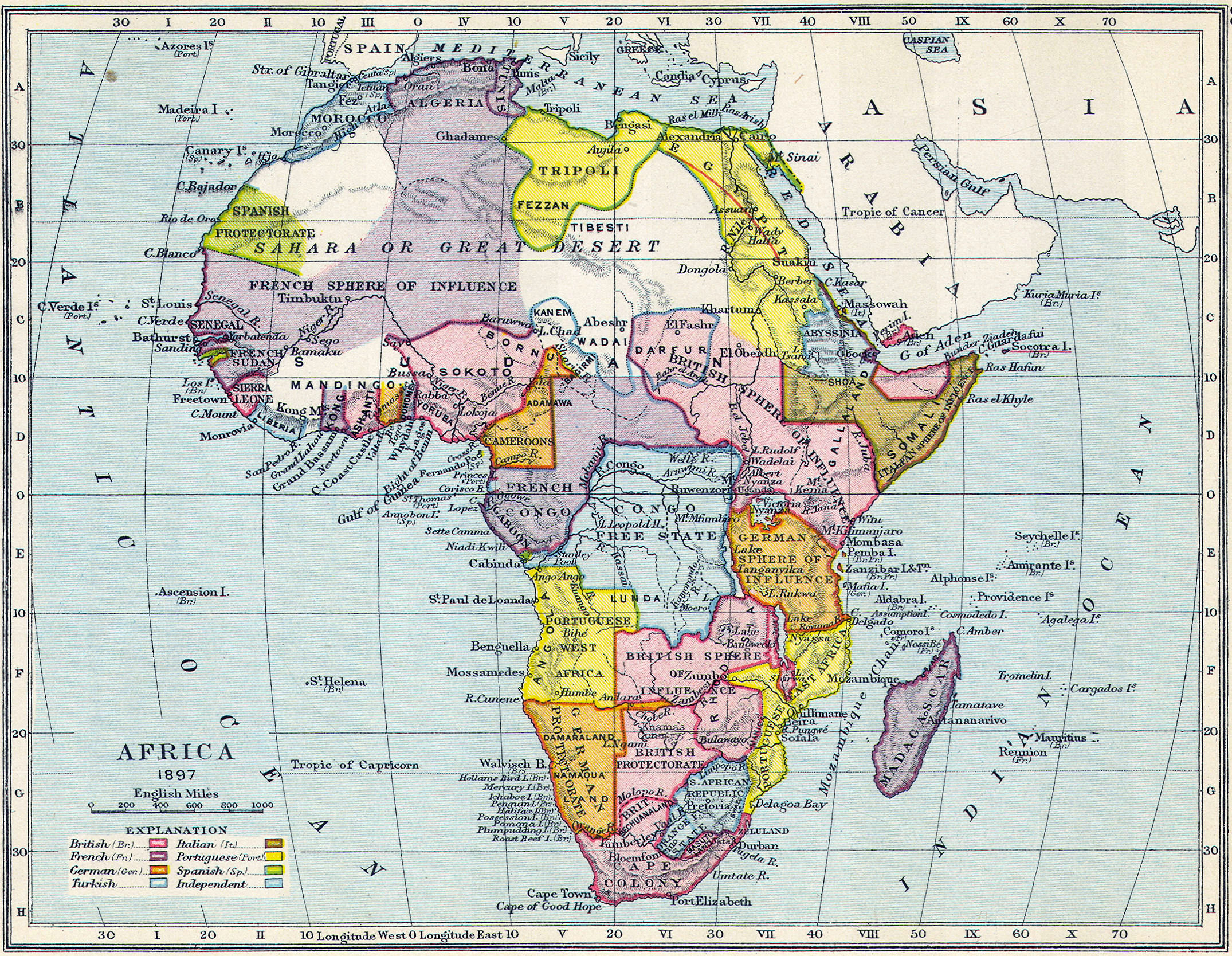 File Map of colonial Africa in 1897 Wikimedia mons